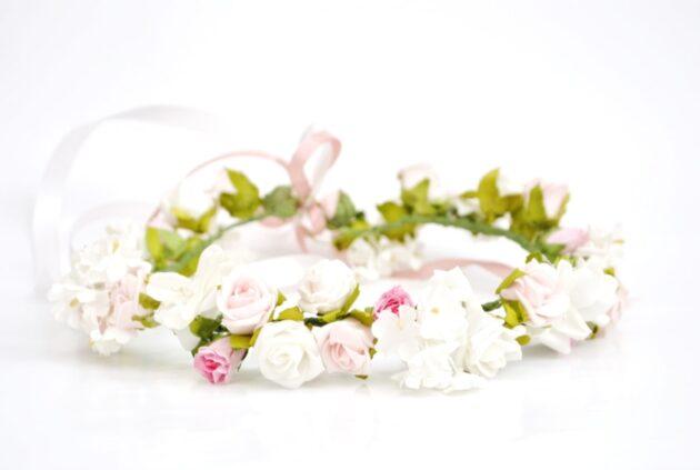 Wianek na ślub Różyczka Ptaszarnia