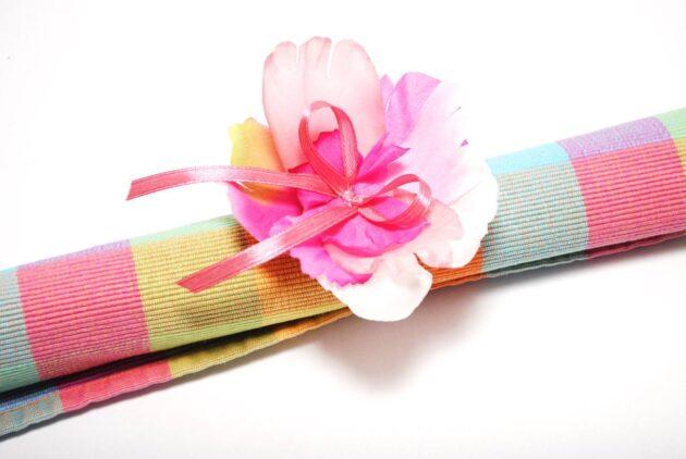 Kwiatek na serwetkę Ptaszarnia