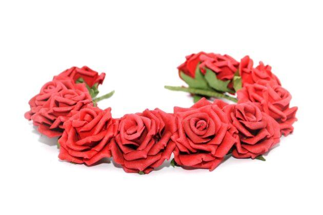 Opaska ślubna rose alert Ptaszarnia