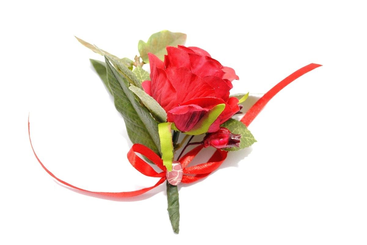 Butonierka rose alert duża ptaszarnia