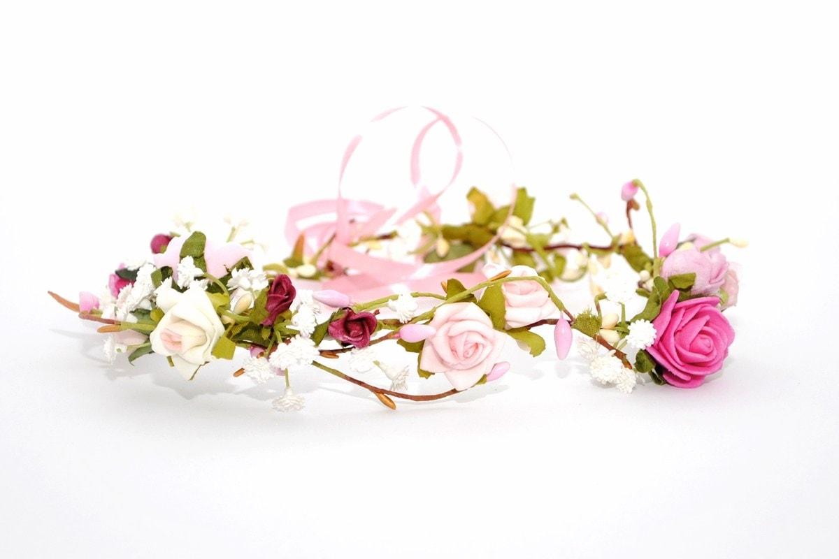 Wianek ślubny panienka z rosy Ptaszarnia