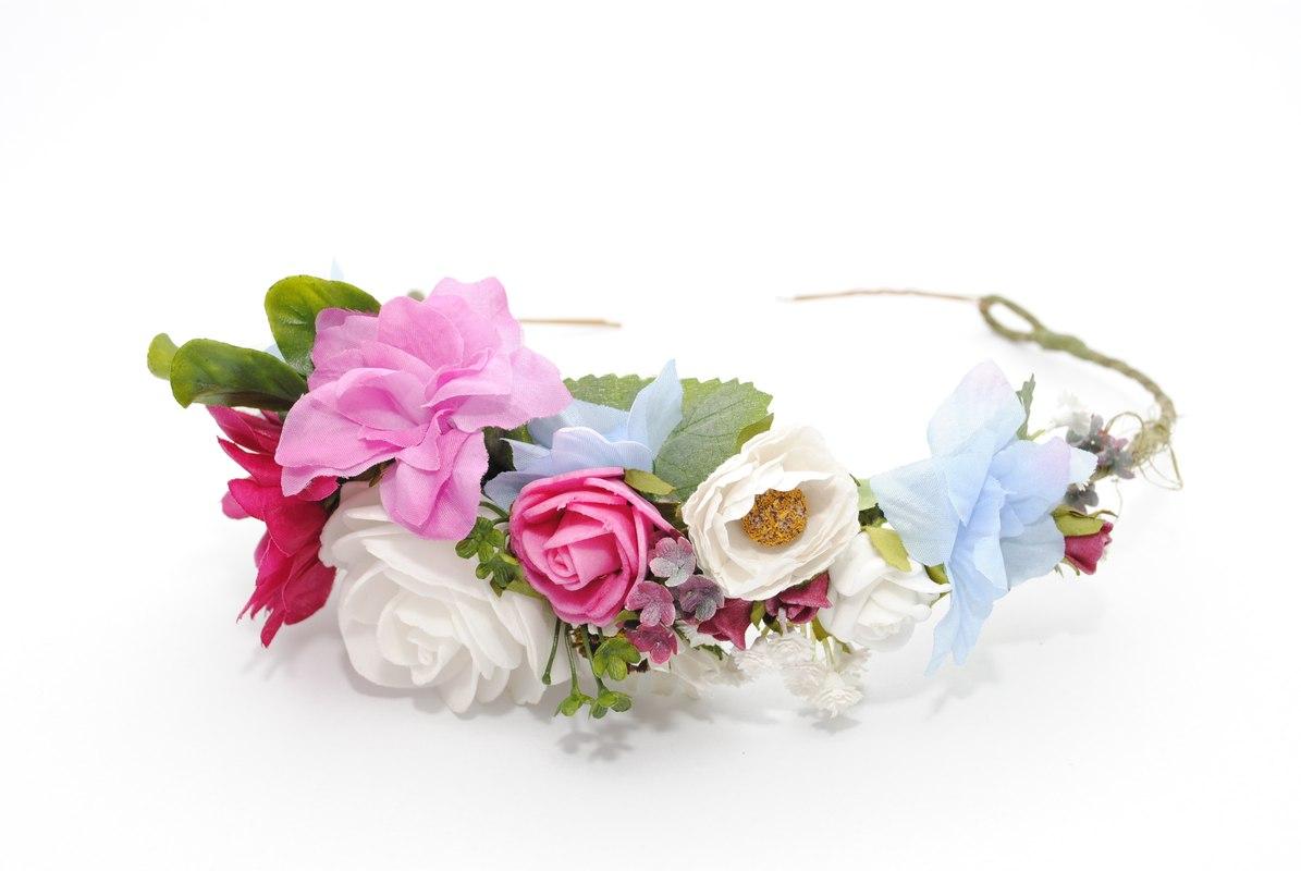 Wianek balet w kwiatach Ptaszarnia
