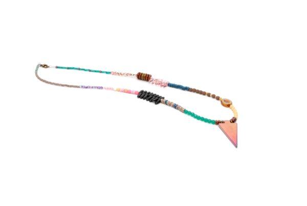 Naszyjnik Rainbow Spear Wild Tribe Ptaszarnia