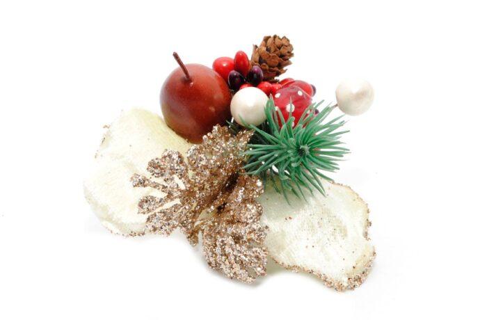 Butonierka Świąteczna mniejsza Ptaszarnia
