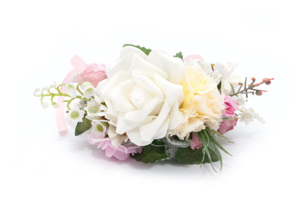 butonierka - spinka perfect bride ptaszarnia