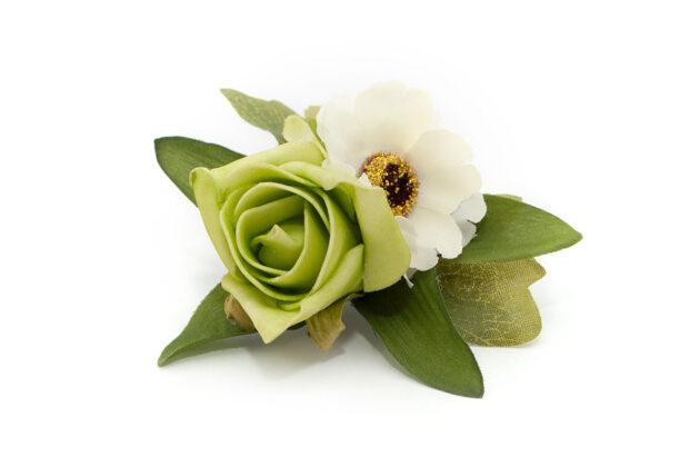 Spinka w stylu greenery Ptaszarnia