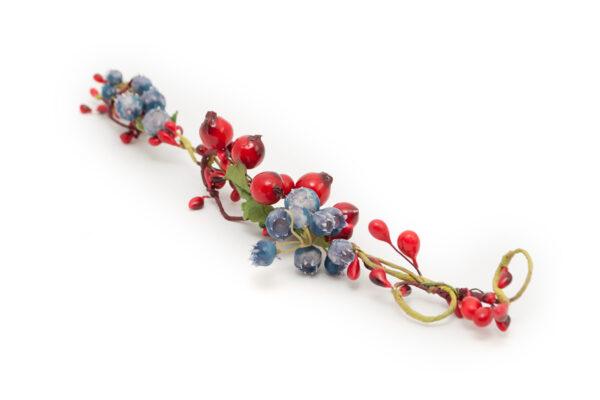 Gałązka jarzębinowa z jagodami Ptaszarnia