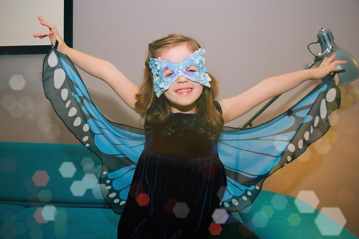 Maska motylek Ptaszarnia