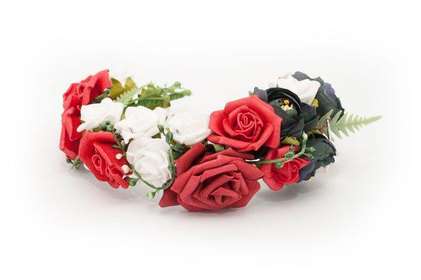 Opaska Róże Tyrolu Ptaszarnia