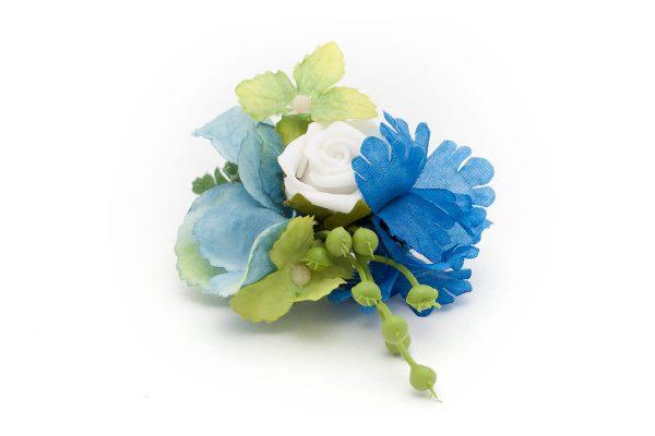 butonierka błękitna nuta Ptaszarnia