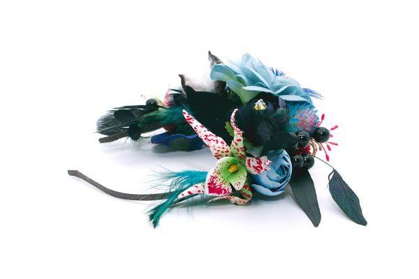 OOpaska dziki błękit Ptaszarnia 0009
