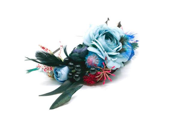 Opaska dziki błękit Ptaszarnia