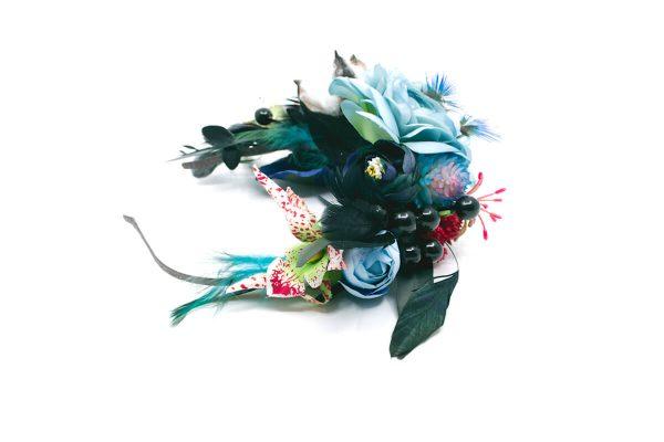 Opaska dziki błękit Ptaszarnia 0002