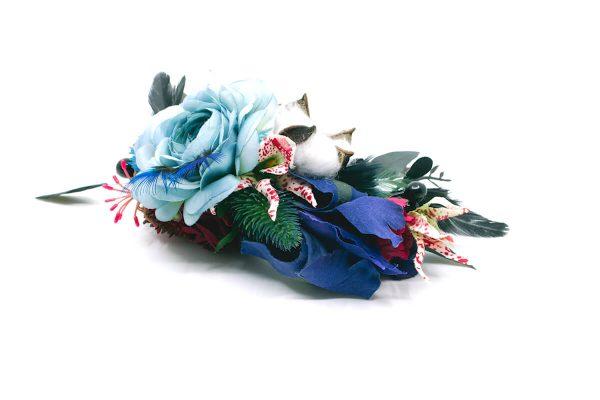 Opaska dziki błękit Ptaszarnia 0003