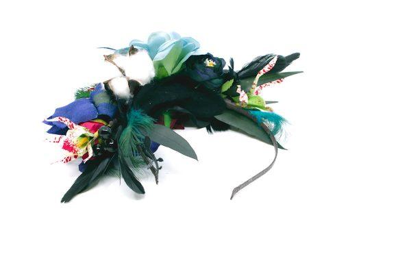 Opaska dziki błękit Ptaszarnia 0004