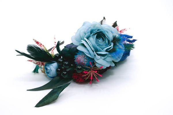 Opaska dziki błękit Ptaszarnia 0006