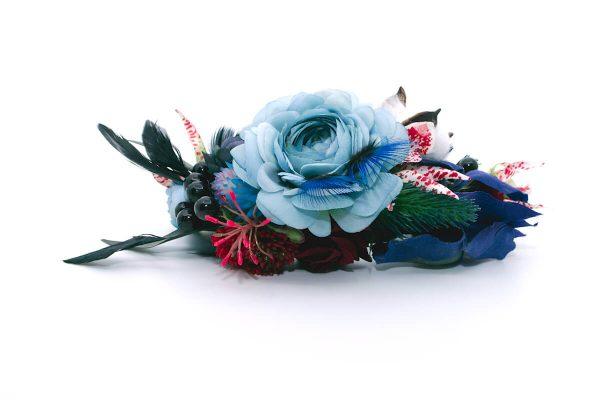 Opaska dziki błękit Ptaszarnia 0010