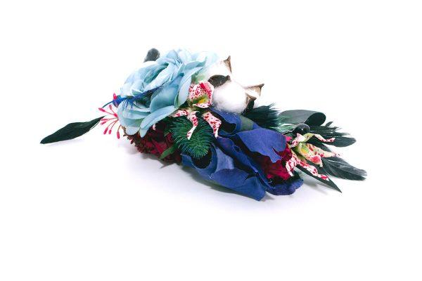 Opaska dziki błękit Ptaszarnia 0011