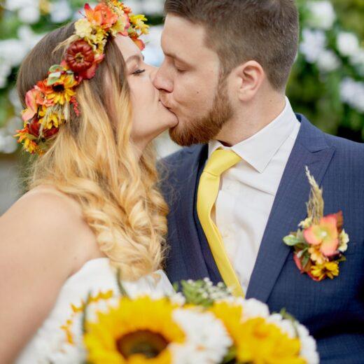 Martyna i Adam wianek ślubny Ptaszarnia